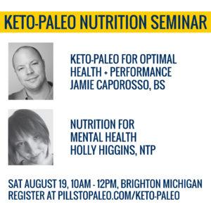 Keto-Paleo Seminar in Brighton, Michigan